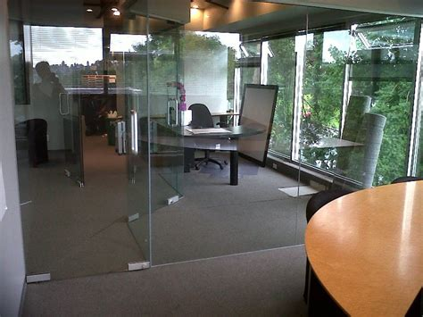 Glass Walls Installation For Interior Offices Or Home Partitioning