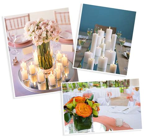 mirrors for centerpieces centerpieces with candles and mirrors images