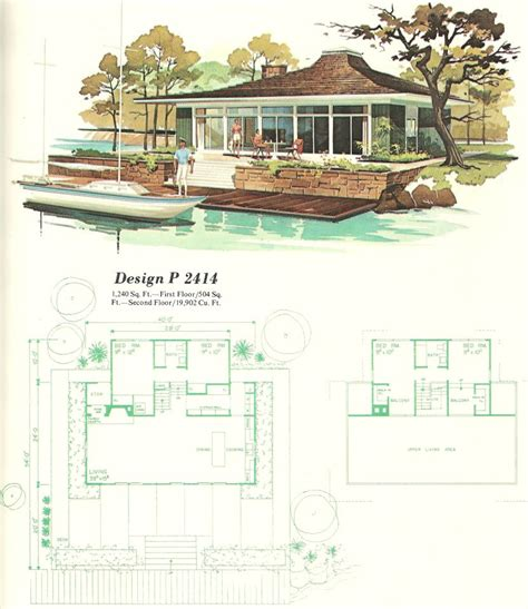 1960s house design vintage house plans vacation homes 1960s teeny tiny house love pinterest house