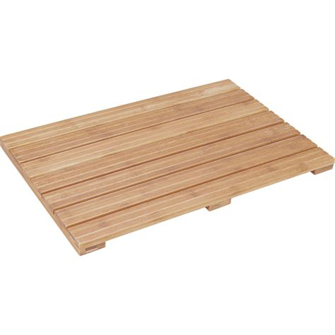 Bamboo Bath Mat Ecostyle In Shower And Bath Mats Bamboo Bathroom Rug