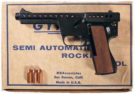 Mba Gyrojet I by Mba Gyrojet I Pistol Firearms Auction Lot 680