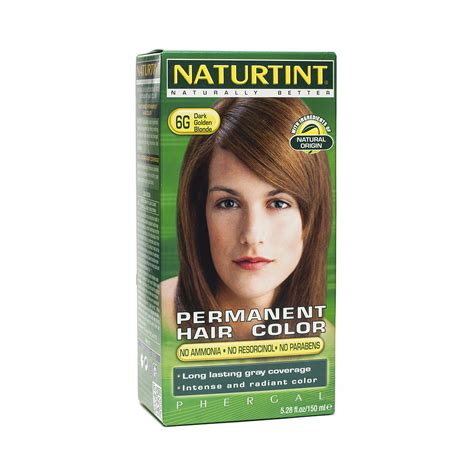 6g hair color golden 6g permanent hair color by naturtint