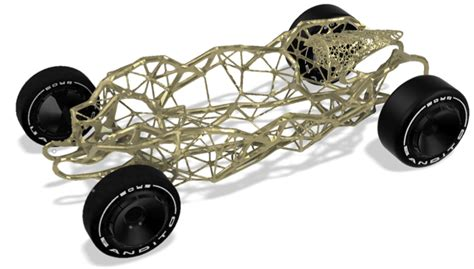 design car frame the alien style of deep learning generative design