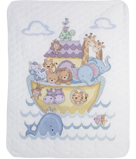 noah mills birth chart plaid bucilla noah s ark crib cover quilt