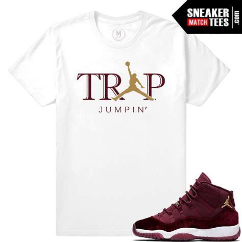 T Shirt Nike Just Fly Maroon Anime t shirt 11 velvet maroon match sneaker match tees