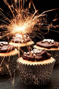 Chocolate Duvet Cover Sparkler Cupcakes Photograph By Amanda Elwell