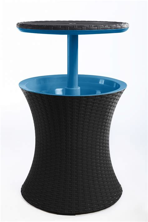 Home Design Products Keter keter cool bar rattan brown ice blue maze