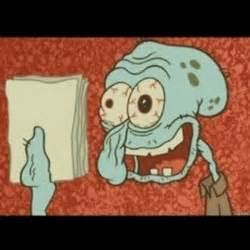 Spongebob Homework Meme - squidward meme memes