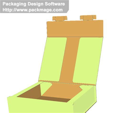 3d Cardboard Carton Box Templates Self Locking Trays Corrugated And Folding Carton Box Templates Cardboard Box Design Templates