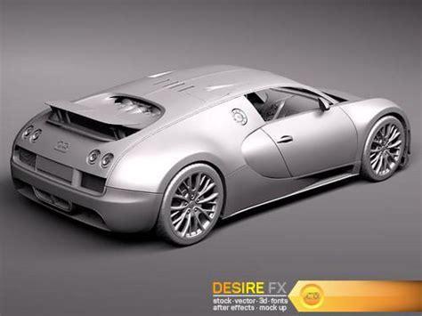 Desire FX   Bugatti Veyron Super Sport 2012 3D Model