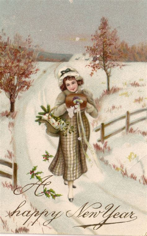 a happy new year 1924 vintage greeting card zazzle 10 best images about vintage new years celebration on