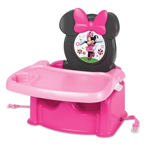 toddler booster seat for table australia disney baby minnie mouse table booster seat
