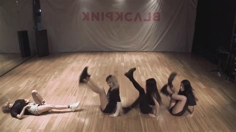 blackpink mirrored dance blackpink quot boombayah quot dance practice mirrored youtube