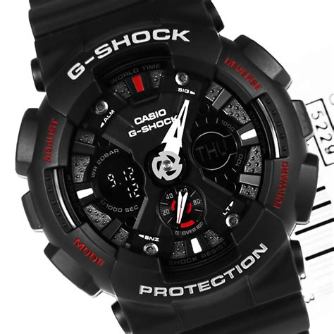 Casio Original G 056b Second casio g shock analog digital ga 120 1adr ga120