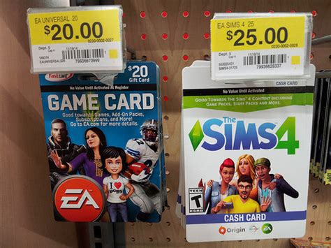 card origin the sims 4 card now available at walmart simsvip
