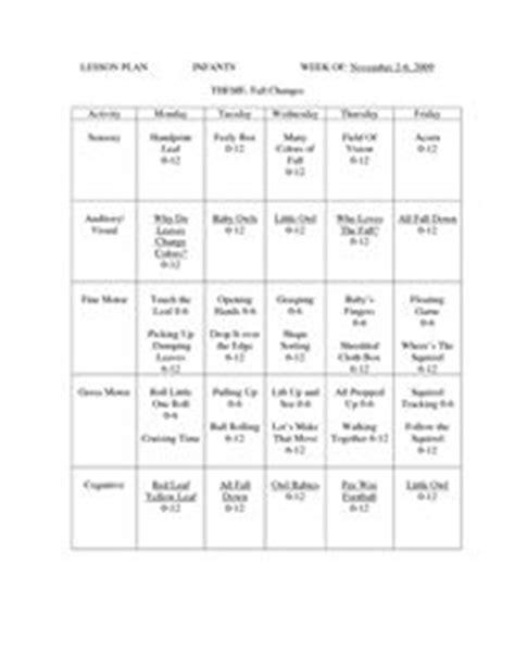toddler room lesson plans infant lesson plan sle for january my biddys infant lesson plans