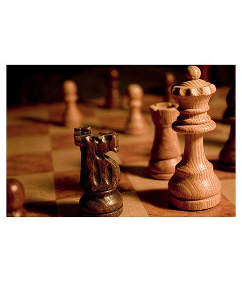 chess styles av styles wooden chess pieces poster buy av styles wooden