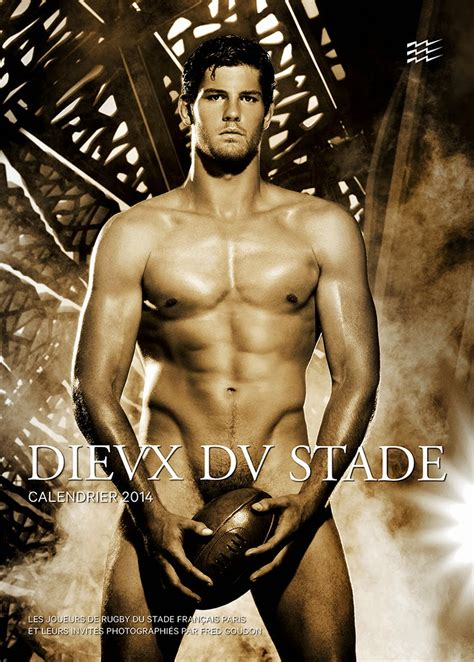 Calendrier Les Dieux Du Stade 2014 Kenneth In The 212 Les Dieux Du Stade 2014 Calendar Preview