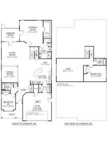 Good House Plans With 2 Master Bedrooms Downstairs #1: WOODBRIDGE-2755-SCHEMATIC_02.jpg