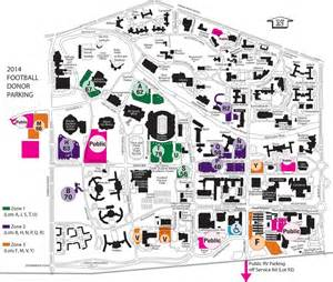 a m football parking map michigan state official athletic site spartan