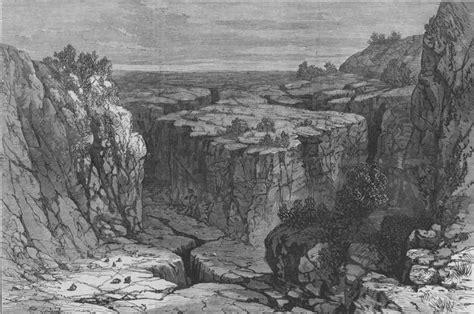 lava beds oregon oregon the modoc war the modoc indian war the lava beds oregon print 1873 ebay