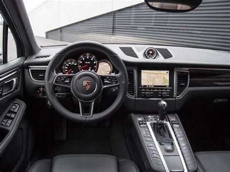 2017 porsche macan turbo interior 2017 porsche macan details changes release date price