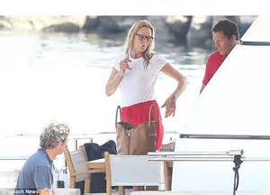 Uma Thurman Wants To Quit Acting To Take Care Of by Uma Thurman And Arpad Busson Wear As They To