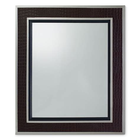 ralph lauren metal mirrors 7000 04 ralph lauren city modern mirror faux black