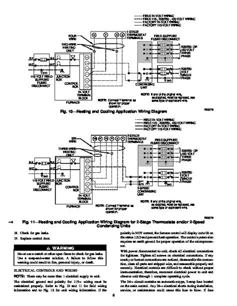 gas furnace wiring diagram carrier carrier gas