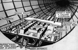 hindenburg airship interior description diagram of