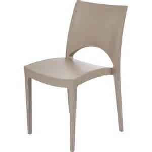 chaise de jardin en r 233 sine green couleur taupe