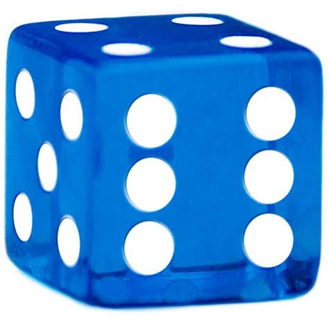 19mm Dice rounded corner 19mm blue dice