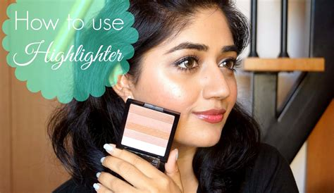 highlighter makeup tutorial for beginners corallista