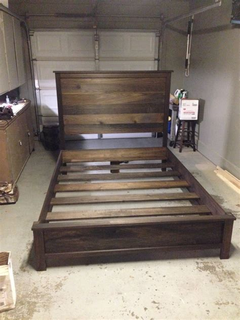 Headboard And Bed Frame Diy How To Raise A Bed Without A Frame