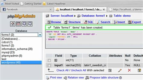 format date mysql exle format html mysql how to create an html form that stores