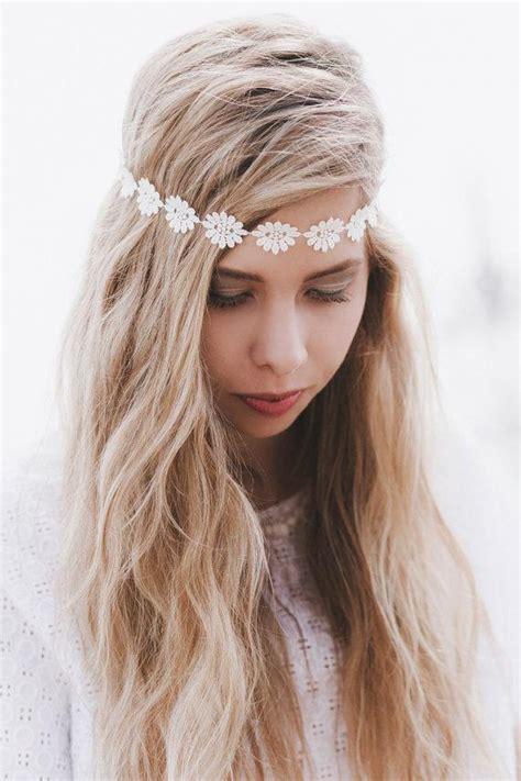 hairstyles with stretchy headbands wedding hairstyles with hippie headband www pixshark com