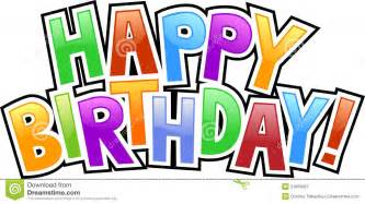 happy birthday graffiti royalty free stock photography