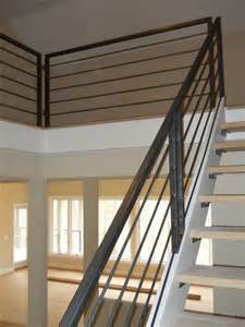 Handrails For Stairs Interior by Interior Metal Stair Railing House Stuff Pinterest