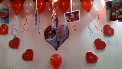 wedding anniversary room decorations youtube