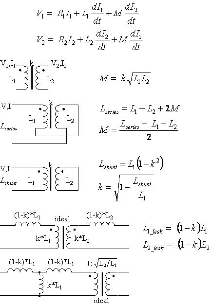formula for impedance of an inductor and leakage inductance calculator multi teknik