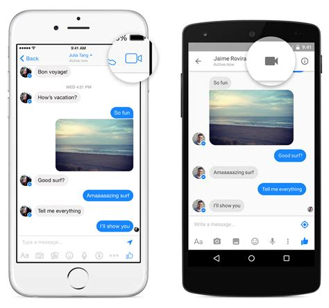 fb video call facebook messenger app now has free video calling