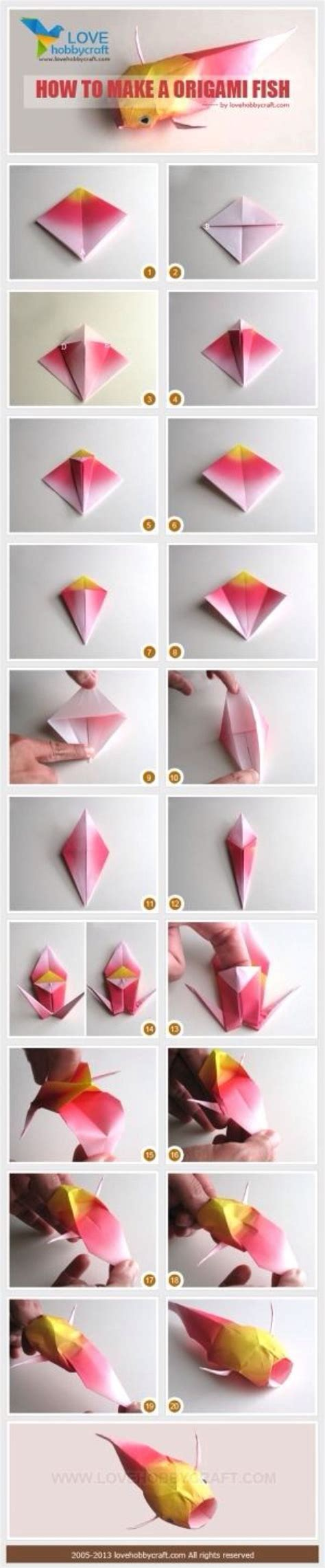 How To Make Koi Fish Origami - 56 best images about origami on paper bows
