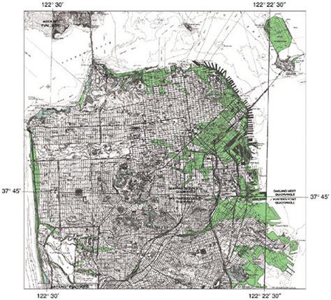 san francisco liquefaction map 3 facing the earthquake threat living on an active