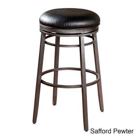 deals on bar stools kitchen round black safford backless counter stool overstock shopping great deals