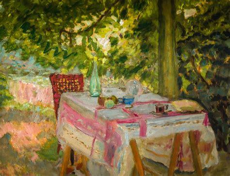 pierre bonnard table set   garden   national