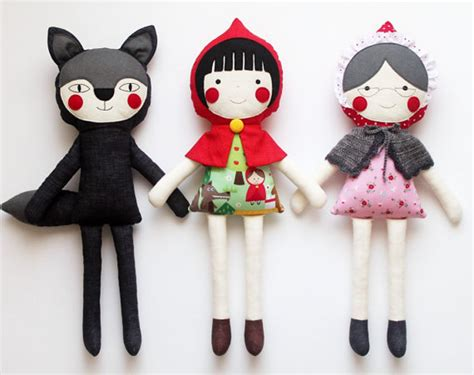 Handmade Stuffed Dolls - gorgeous handmade rag dolls from around the world