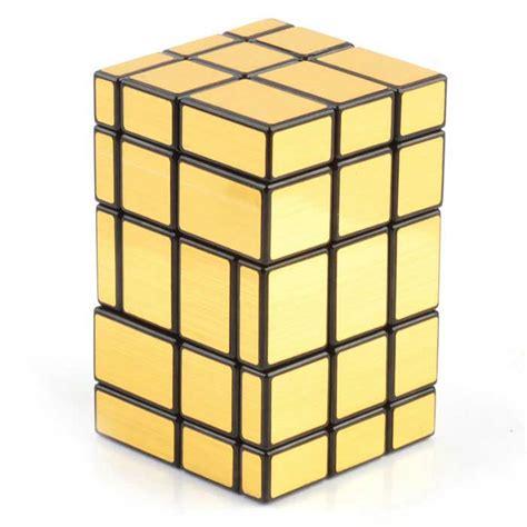 Irregular Iq Cube From Brando by Irregular Magic Iq Cube Fluorescent Golden Black