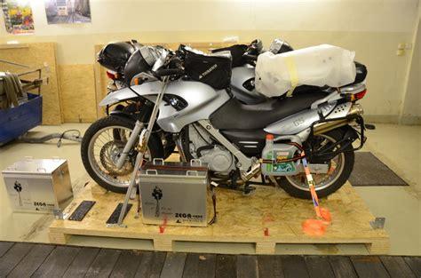 Motorrad Transportkiste Bauen by Transportkiste Hasta El Fin Del Mundo