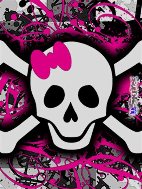 wallpaper girly skull girly skull wallpaper