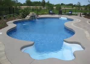 swimming pools swimming pool waterfalls inground fonthill st catharines swimming pool